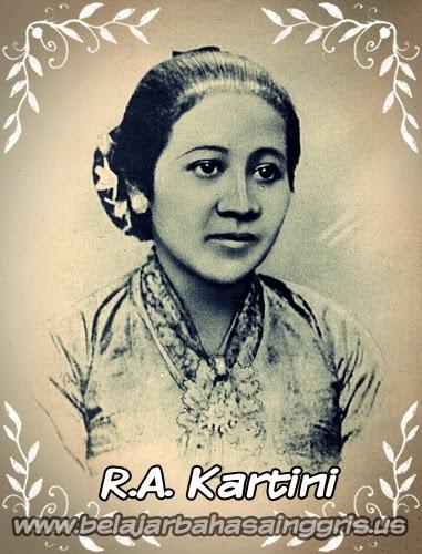 Contoh Recount Text : R.A. Kartini | www.belajarbahasainggris.us