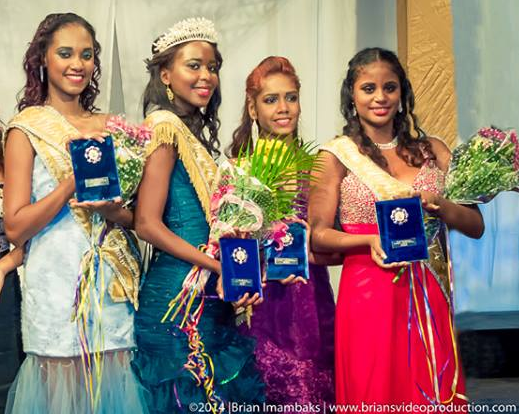 Miss Suriname World 2014 winner Aiapra With