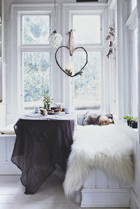Cozy scandinavian setting | Image via Bolig