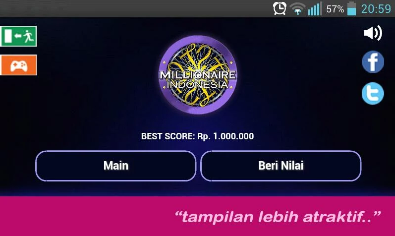 Download Millionaire Indonesia Versi Android APK Free