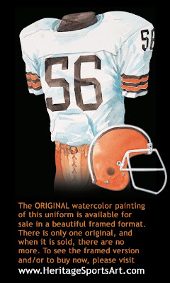 Cleveland Browns 1977 uniform