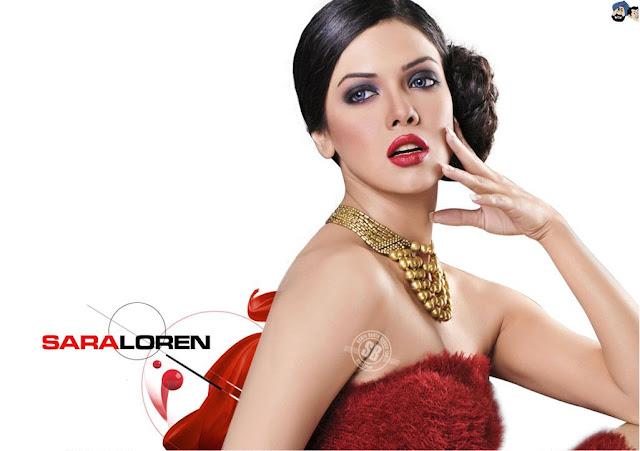Sara Loren HD Wallpaper