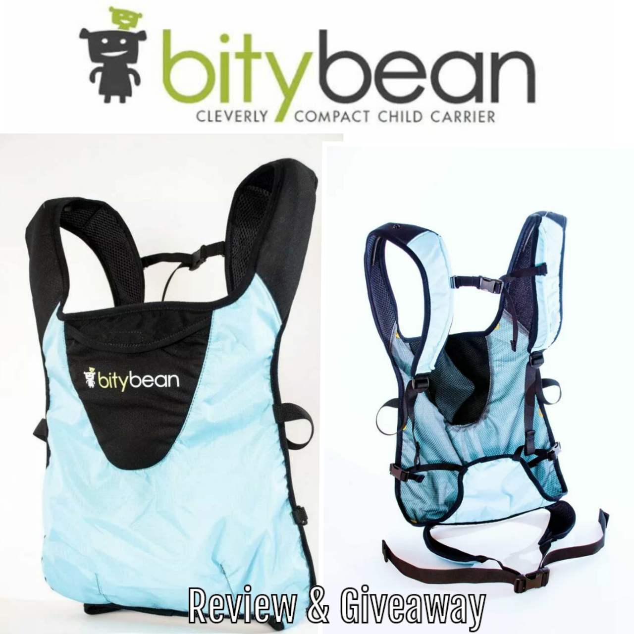 Latched On Mom Bitybean Ultra Compact Baby Carrier Review Giveaway