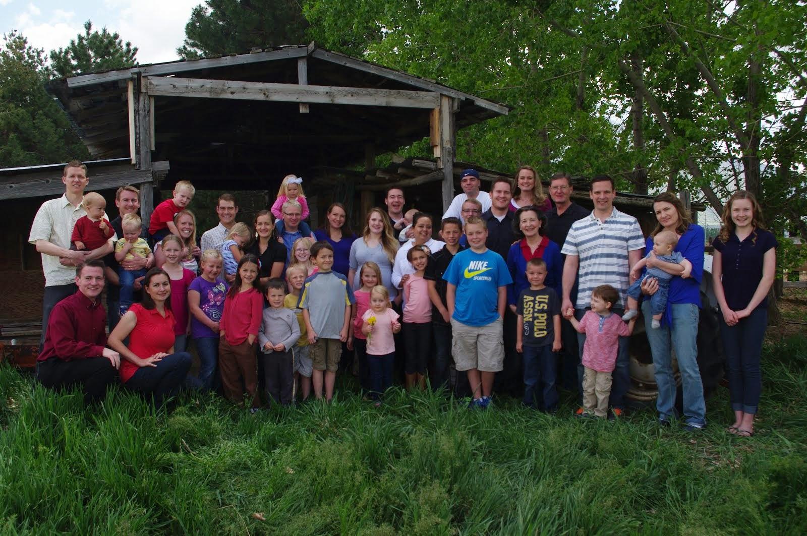 Baadsgaard Family 2014
