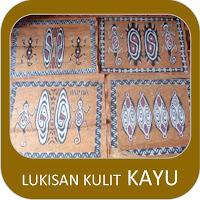 Lukisan Kulit Kayu