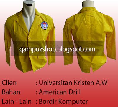 produksi pembuatan jaket almamater kampus murah, supplier jaket kampus termurah surabaya, pembuat jaket almamater kampus paling murah surabaya