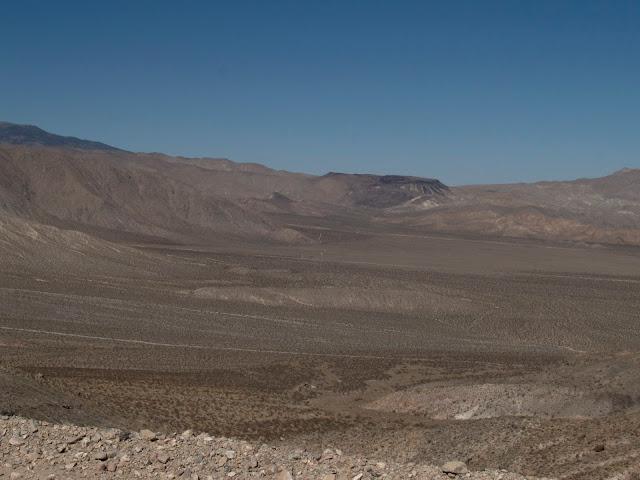 Vista de Death Valley en las proximidades de Scottish Castle