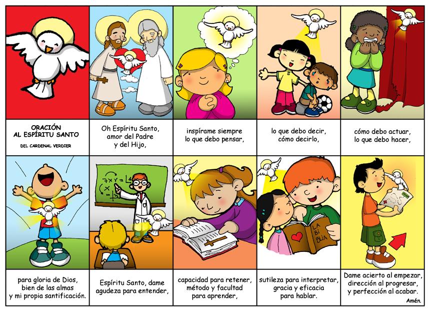 Oracion Al Espiritu Santo Para Ninos