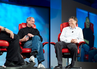 steve jobs,bill gates,steve jobs and bill gates