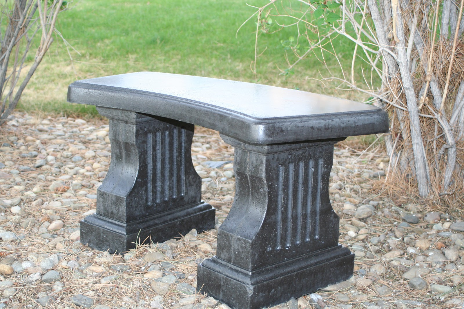 Garden Benches Cement Part - 48: MarvinsDaughters