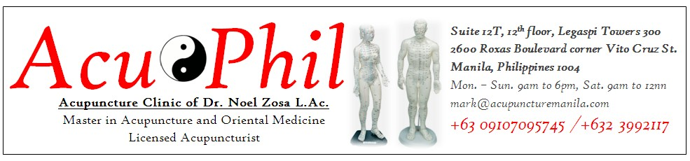 Acuphil Acupuncture Clinic of Dr. Noel Zosa in Manila, Philippines