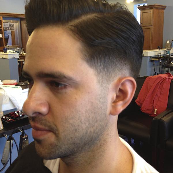 barber haircuts uniforms