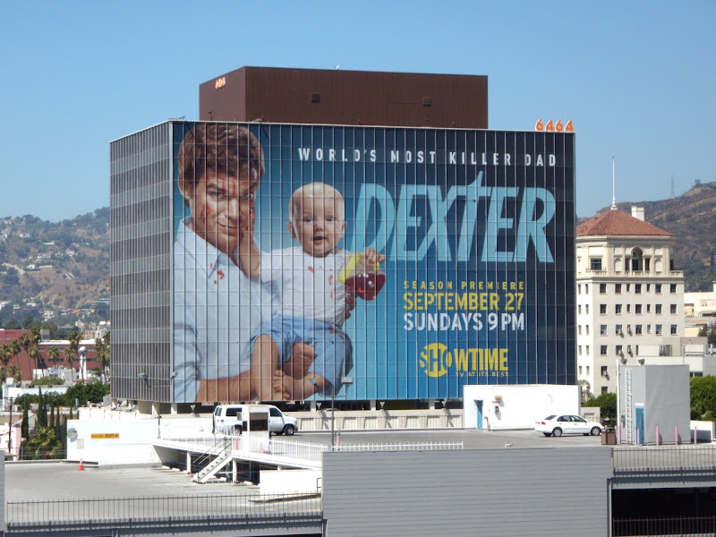Giant Dexter season 4 Showtime billboard