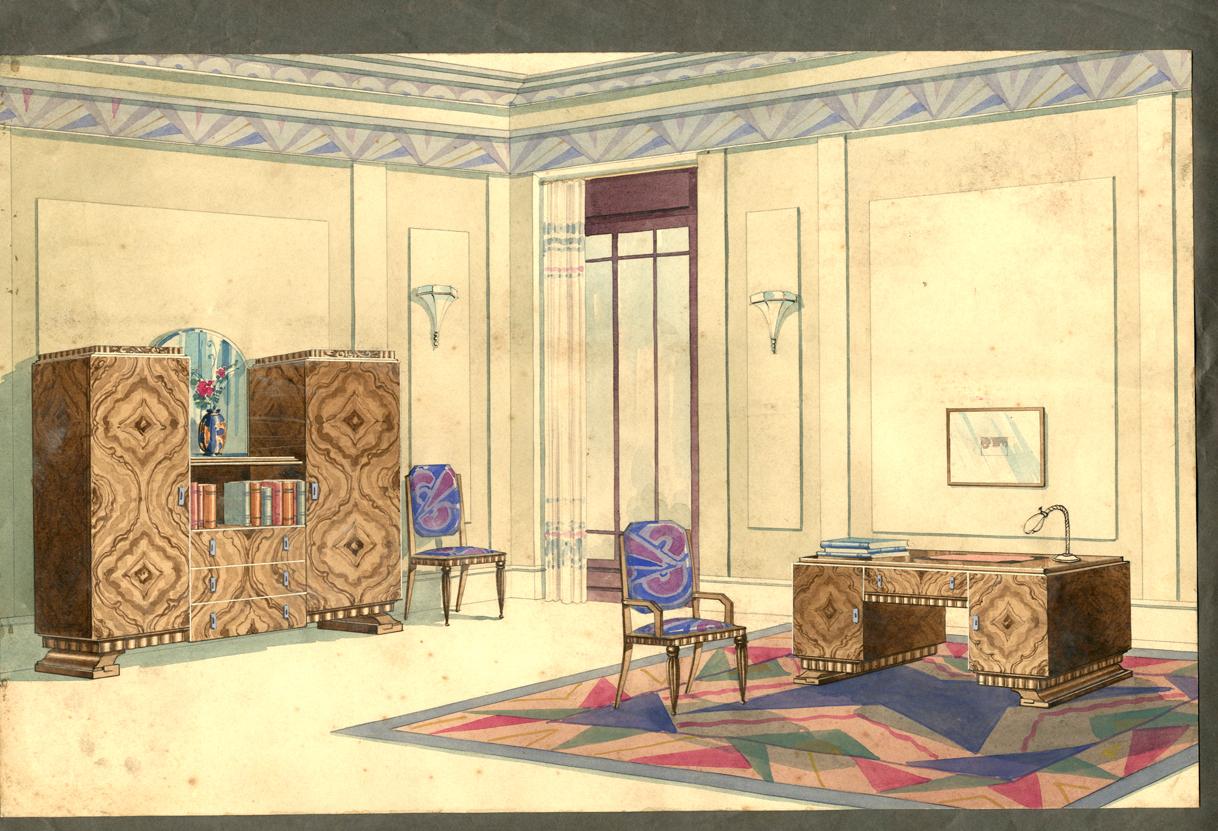 Antiques boutiques deco illustration - Boutique deco vintage ...