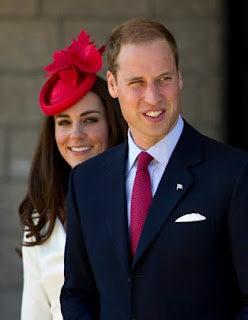 William and Kate, the Duke and Duchess of Cambridge leave a citizenship ceremony on Friday, July 1, 2011, in Gatineau, Canada.