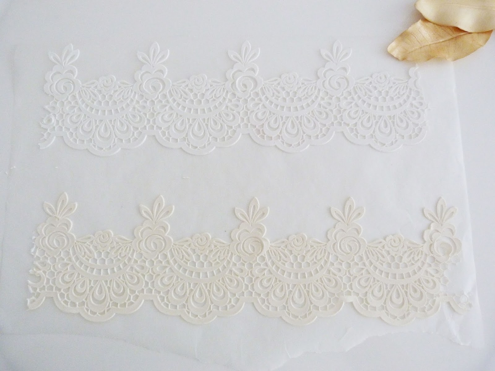 how to make edible lace australia