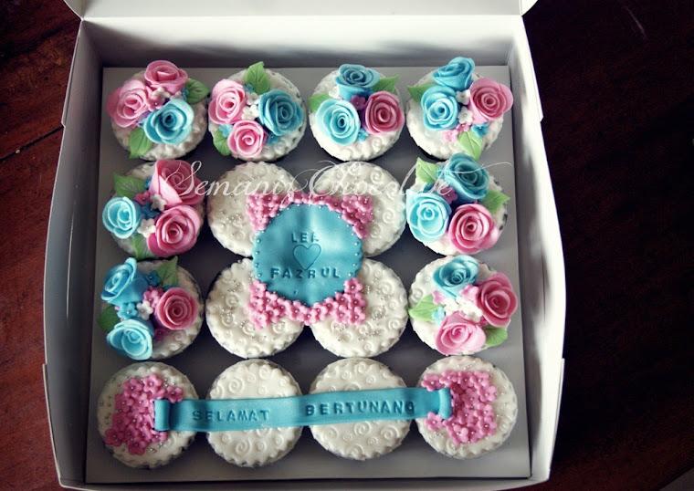 3D Fondant Cupcakes