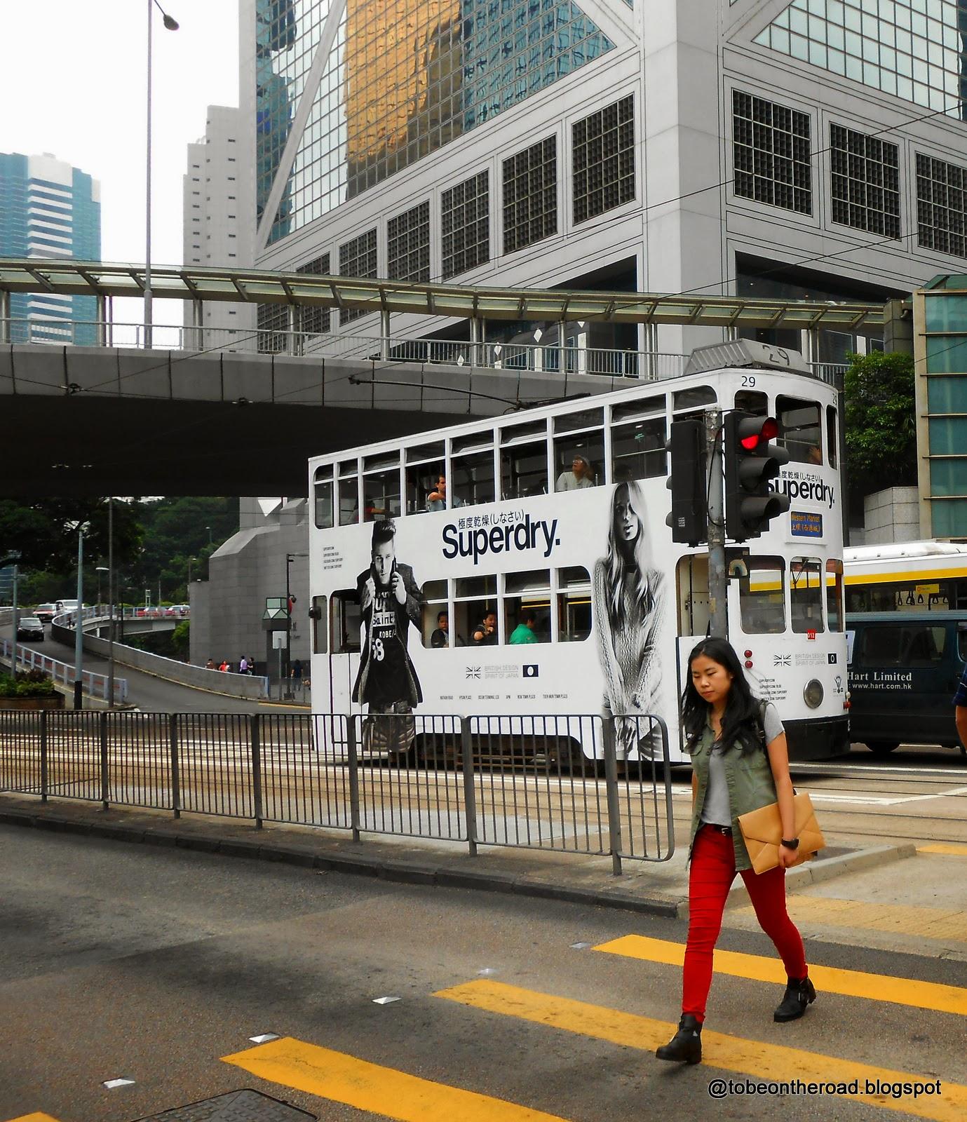 Tram,Hongkong