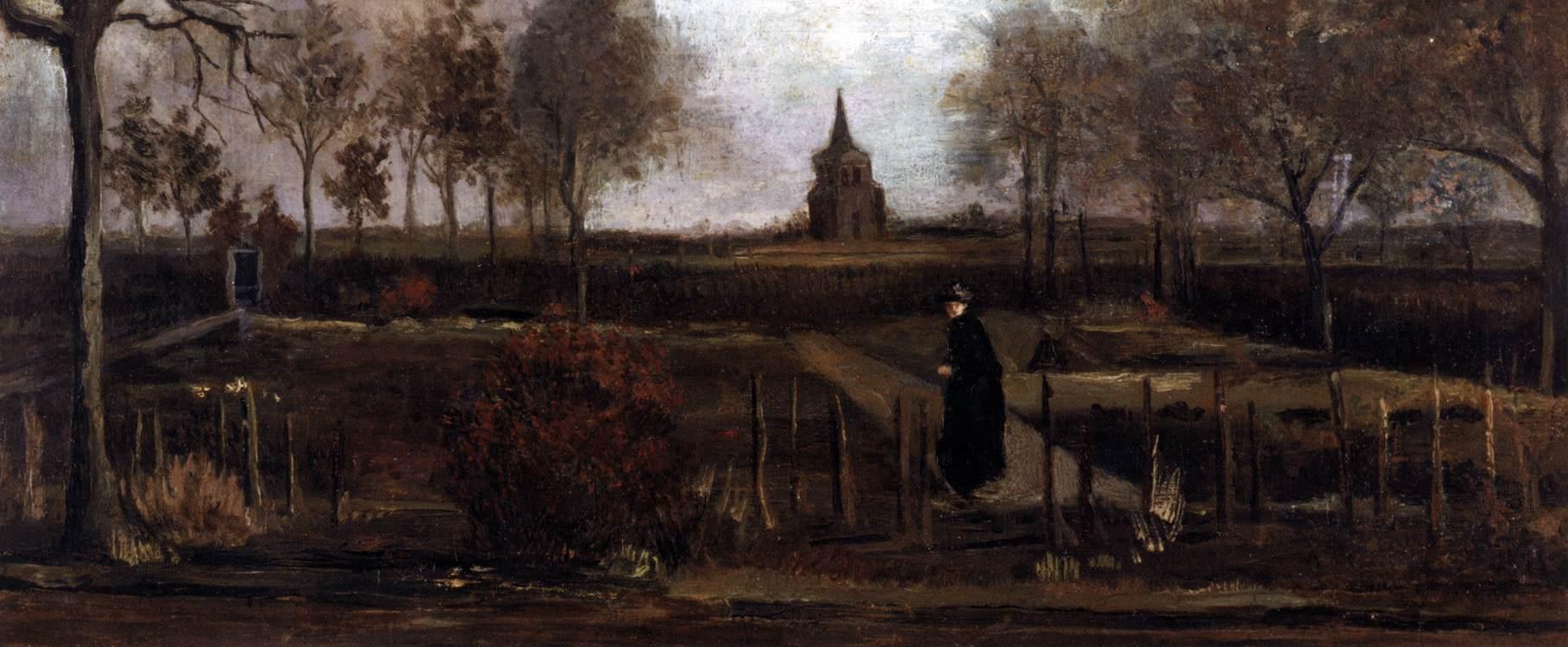 The Parsonage Garden at Nuenen by Vincent van Gogh