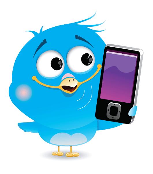 Smartphone Bird Icon