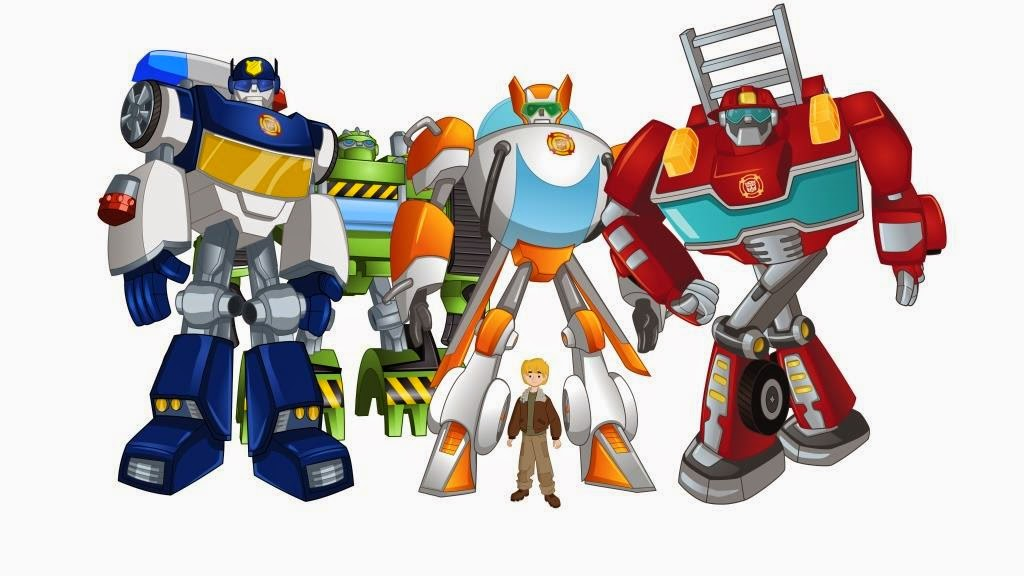 Transformer Rescubots On Discovery Kids
