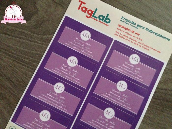 TagLab etiquetas identificação blog Mamãe de Salto