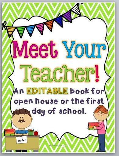 Traveling teaching cooking creating august 2013 there who made lovely templates for meet the teacher books so i bought this one from tpt im excited to share it with my students in a couple of days pronofoot35fo Choice Image
