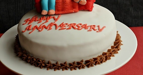 Cake Images Ruchi : RUCHI: Anniversary cake ( Devils food cake with coffee ...