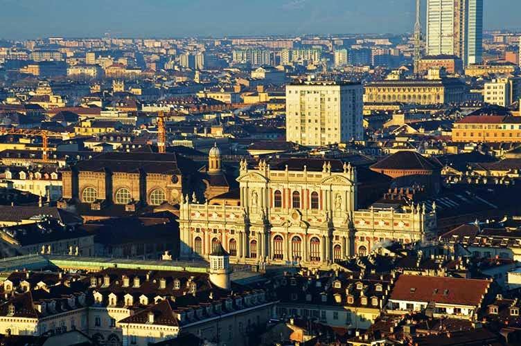 Torino - vista dall'alto