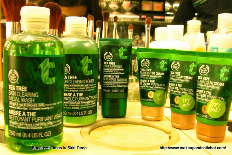 The Body Shop Tea Tree Routine