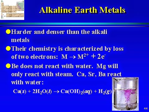 Science online: The general properties of the alkaline ...
