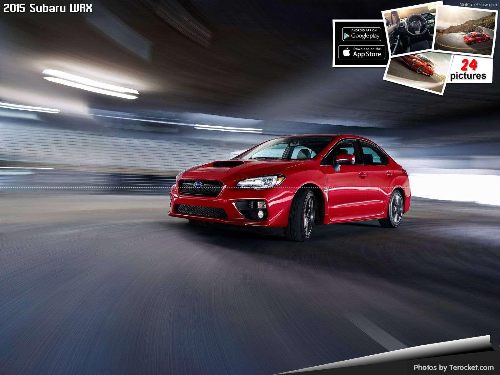 Hình ảnh xe ô tô Subaru WRX 2015 & nội ngoại thất