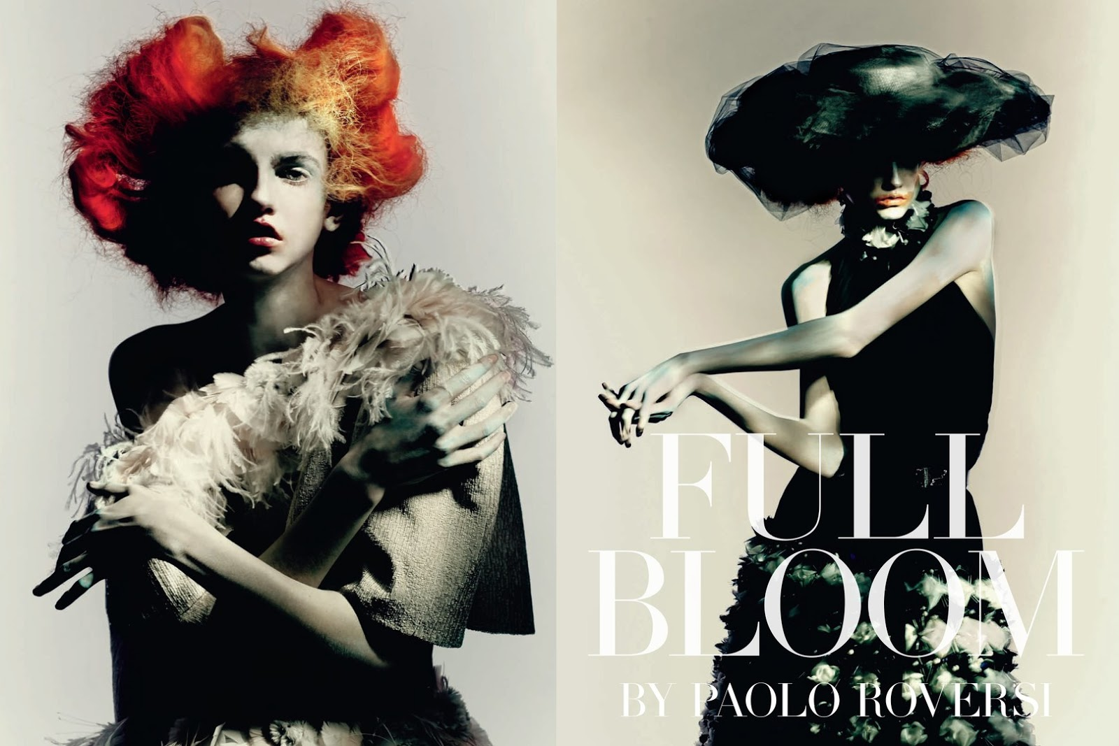 full bloom: molly bair by paolo roversi for vogue italia march 2015