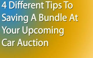 Car Auction Tips