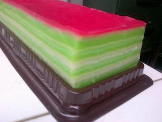 NCC Jajan Tradisional Indonesia Week: Kue Lapis Sagu / Kue Pepe