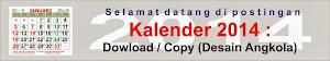 Kalender 2014 : Dowload / Copy. Atur madisi...