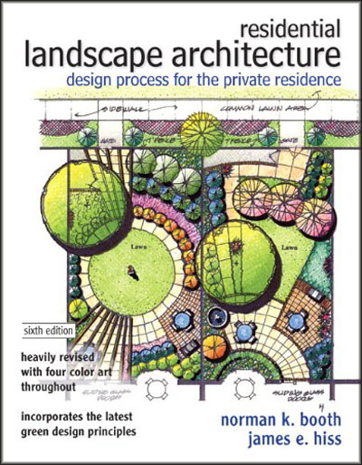 Design process for the private residence 6th edition for Residential landscape plan