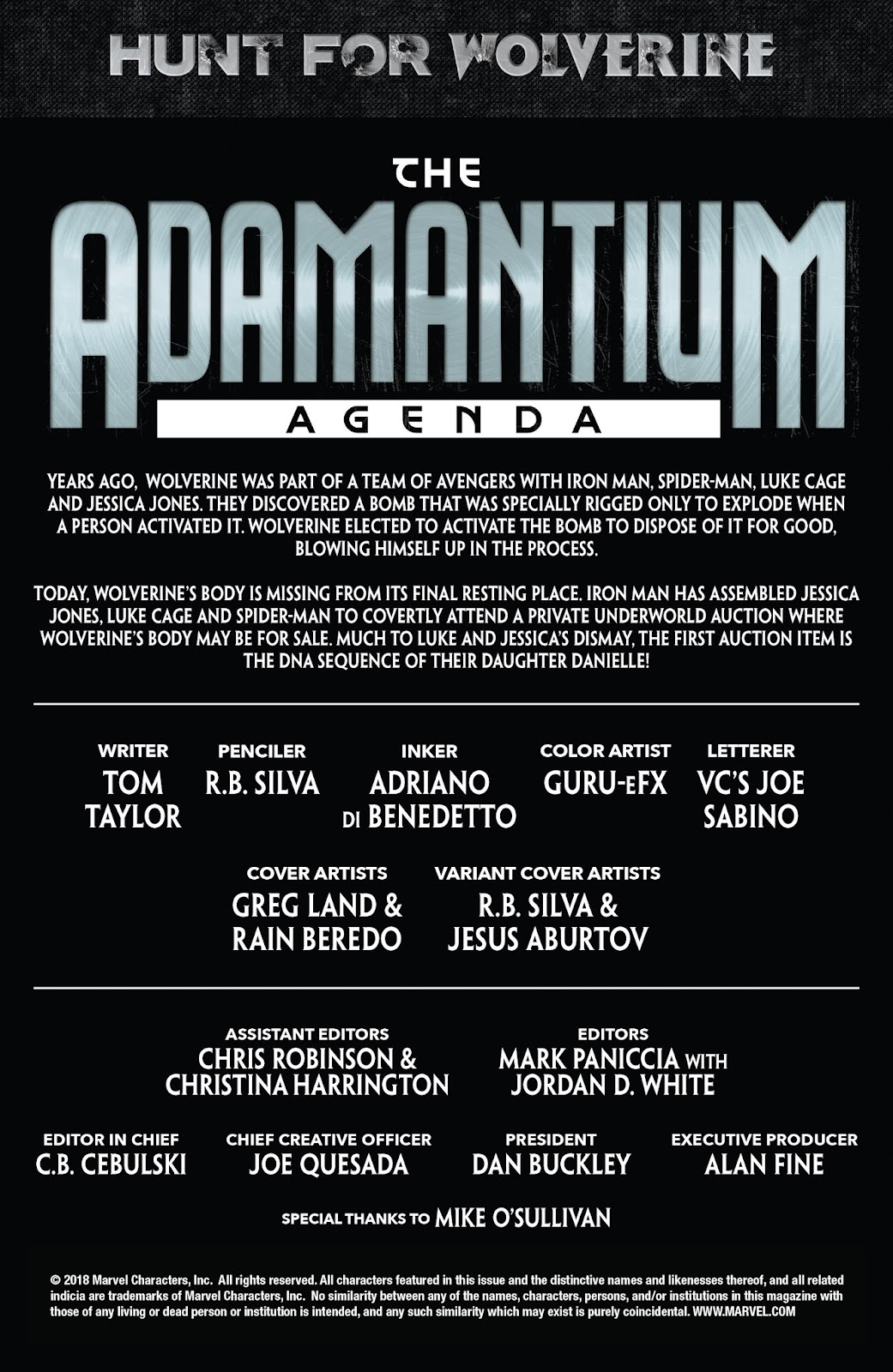 Hunt for Wolverine: Adamantium Agenda  2 Page 2