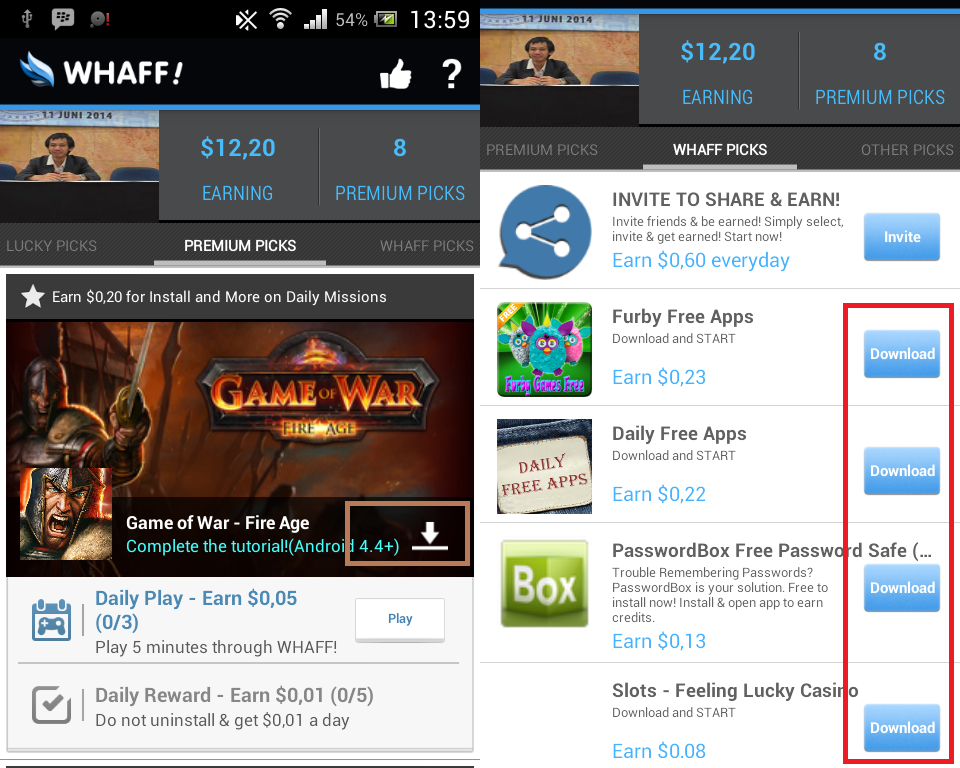 Cara Mudah Mendapatkan Dollar Dari Android