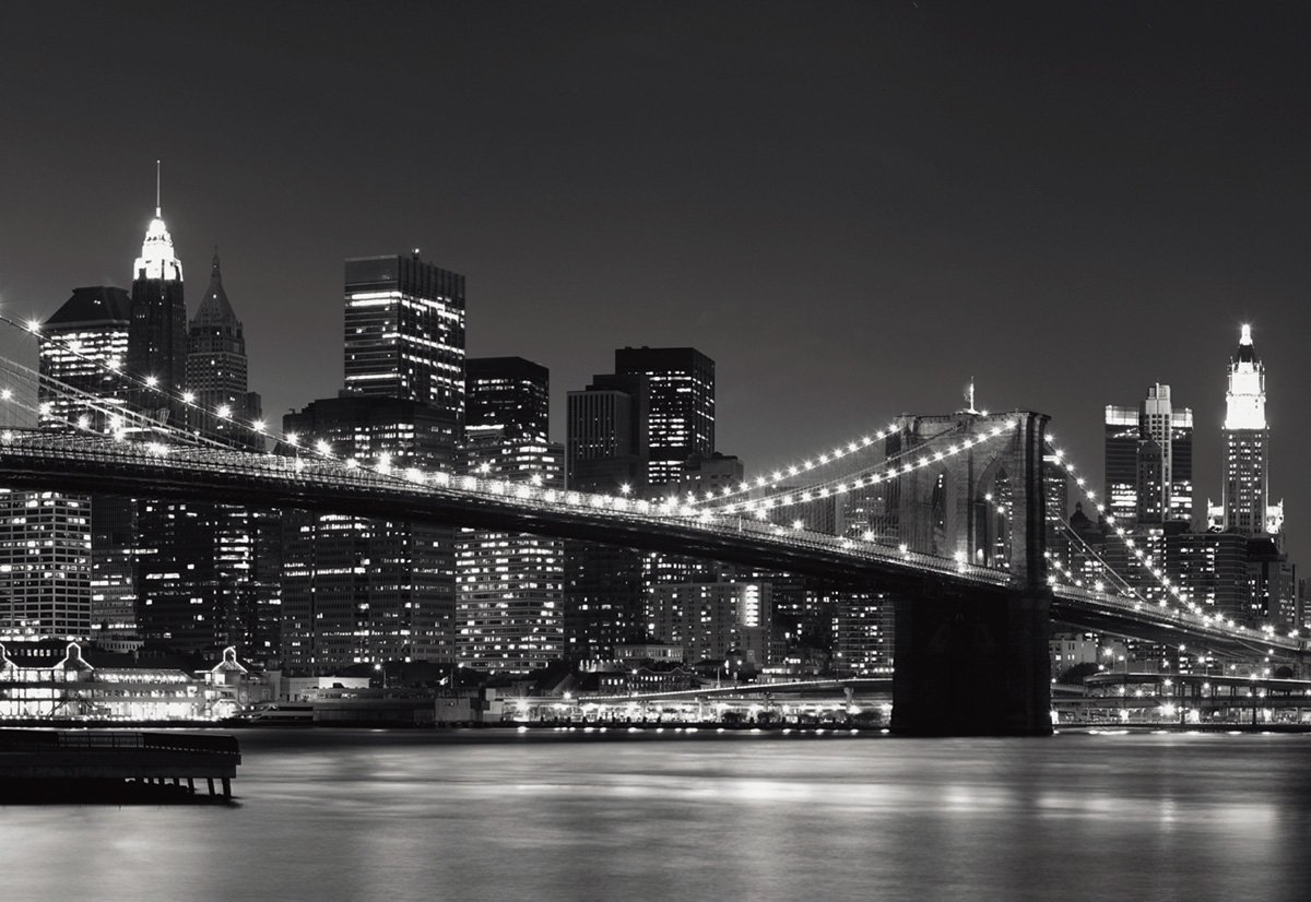 Home wallpaper new york skyline wallpaper for your walls for Art et maison new york