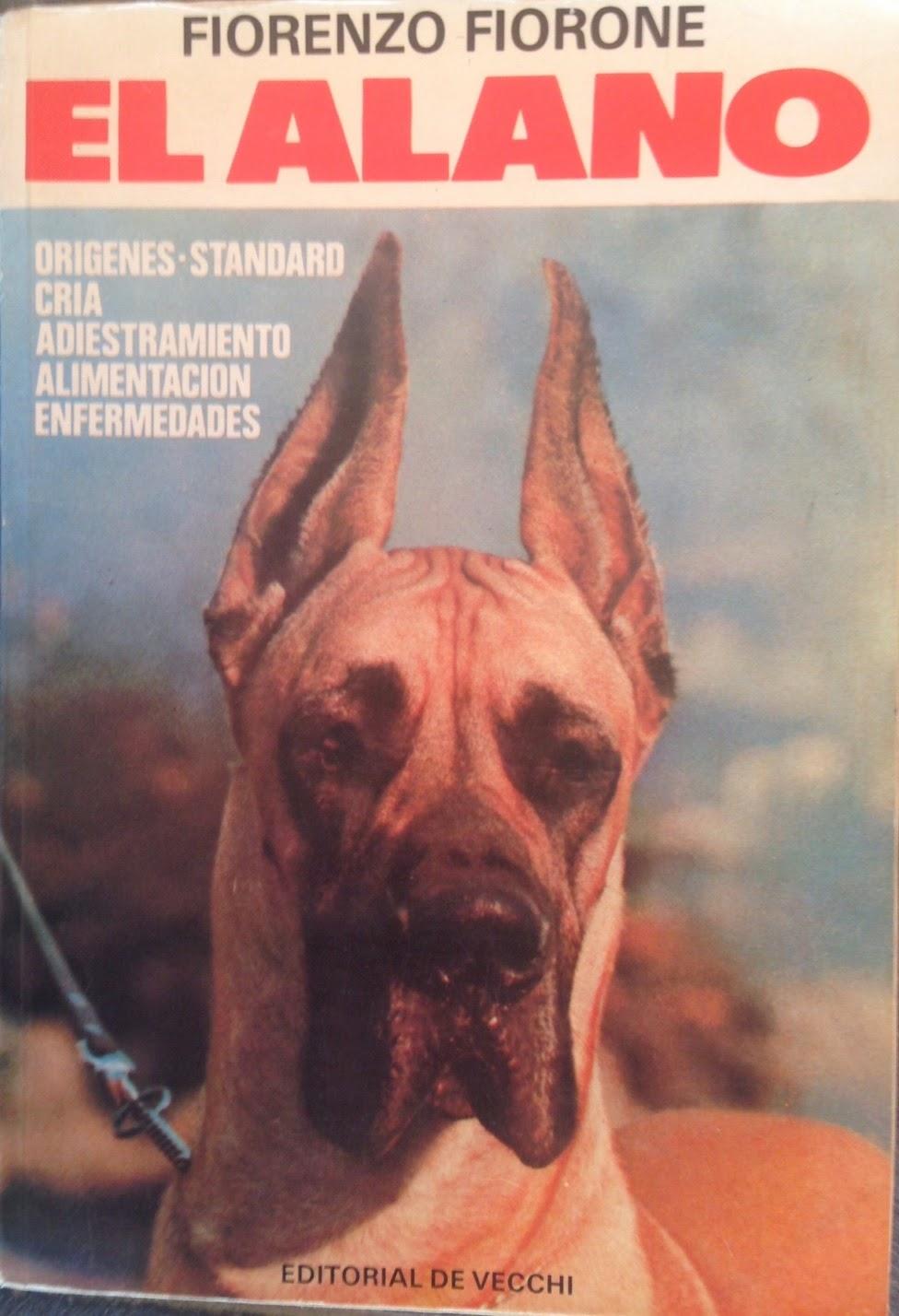 Libro sobre el Dogo Aleman de 1978.