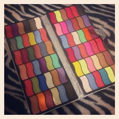 Lijindie 72 Rainbow eyeshadow set KatSick