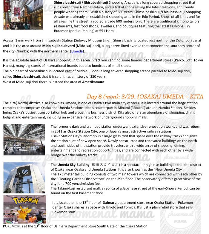 The Phenomenal Mama Japan 2014 Osaka Kyoto Nara Amp Kobe Trip Itinerary