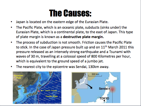 Short essay on japan earthquake