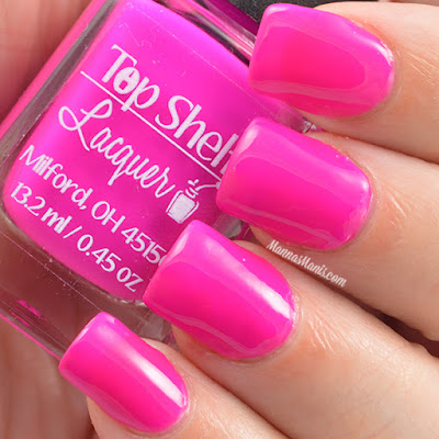 Top Shelf Lacquer  Magenta Joker-tini swatches