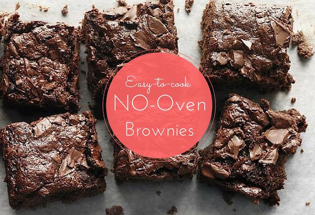 no oven brownies
