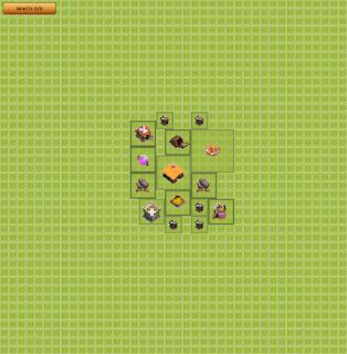 Base Clan War TH 1
