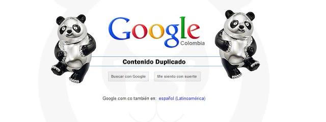Google Panda castiga el contenido duplicado y la copia de contenido, Google Penguin refuerza la persecución, SEO