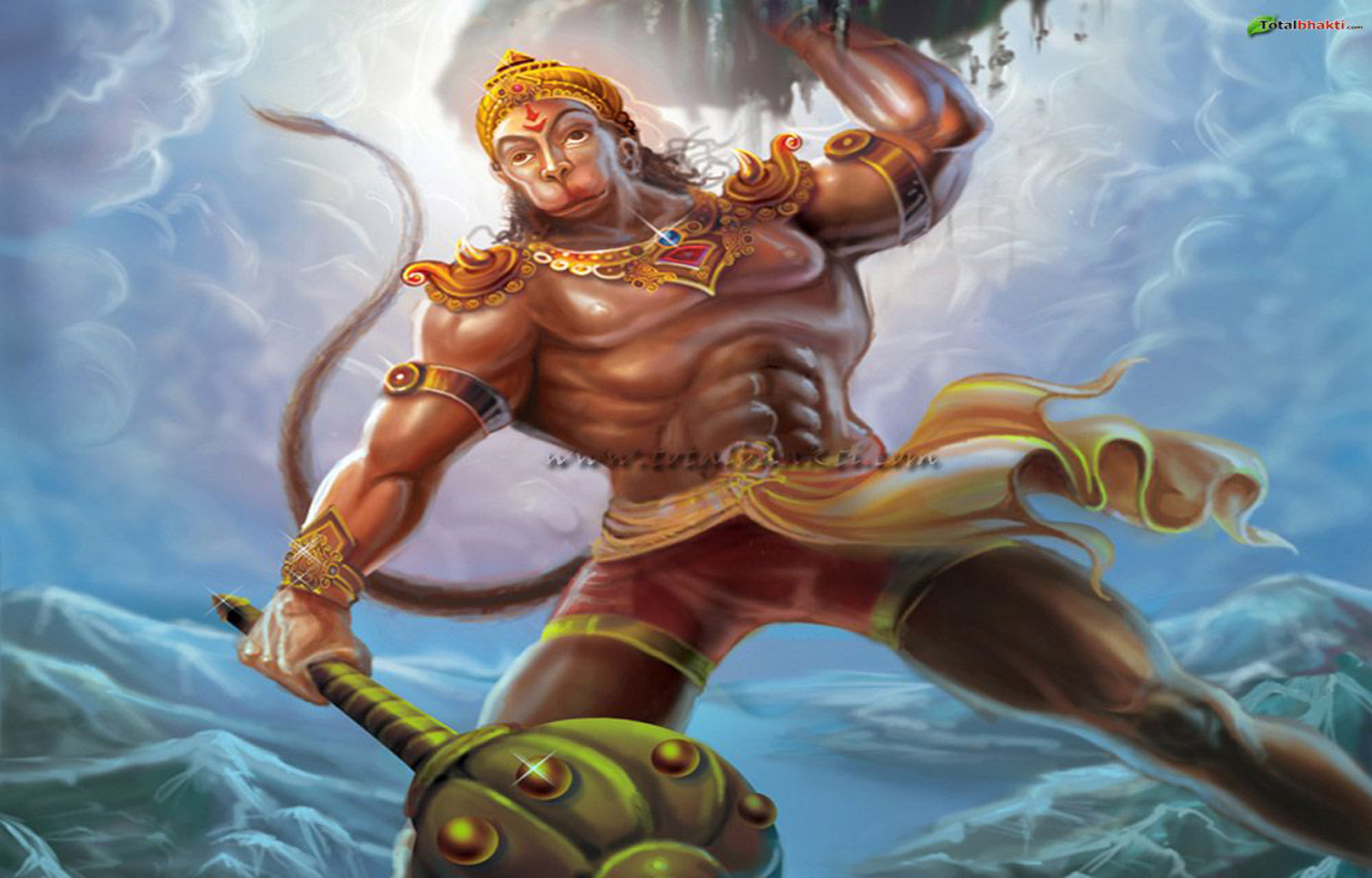 Lord Hanuman Powerful ...