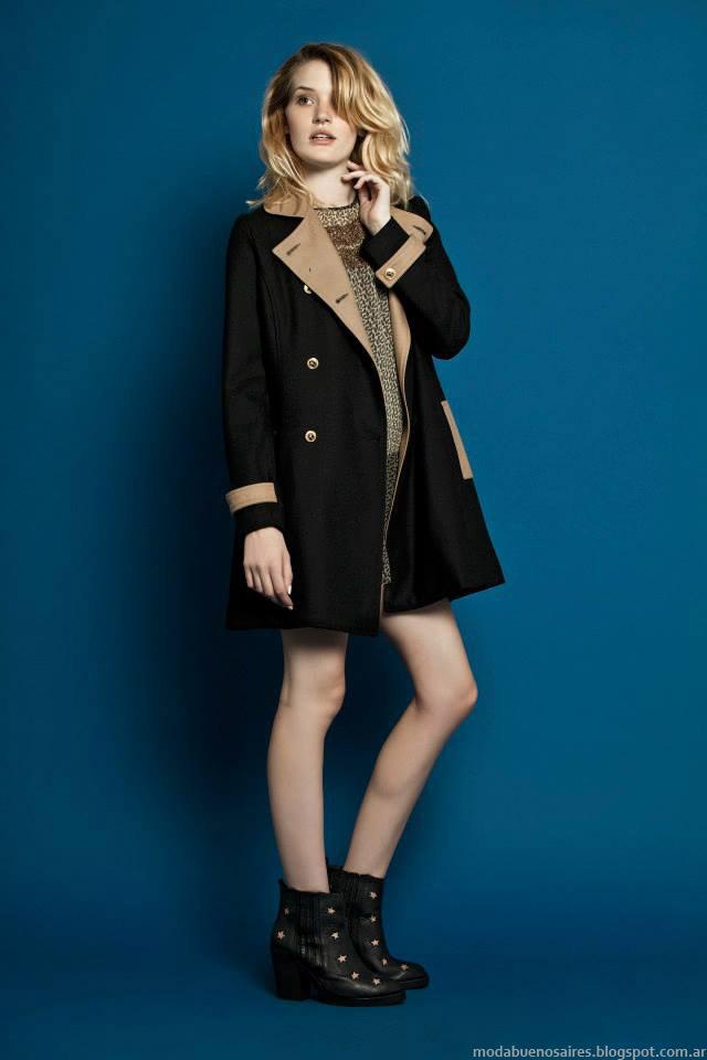 Sacos, tapados 2015 Wanama Mujer. Moda otoño invierno 2015.